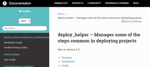 Разбираем построчно deploy_helper от Ansible